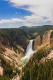 Cadute del Yellowstone immagine stock