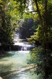 Cadute dell'acqua della natura Fotografia Stock
