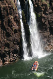 Cadute dell'acqua di Iguazu Fotografia Stock Libera da Diritti