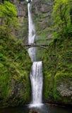 Cadute dell'acqua di Multnomah Immagine Stock Libera da Diritti