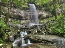 Cadute dell'arcobaleno, parco nazionale di Great Smoky Mountains Immagini Stock