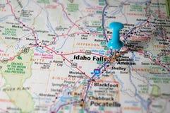 Cadute dell'Idaho, Idaho immagini stock