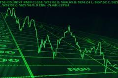 Cadute dell'indice analitico Immagine Stock