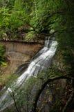 Cadute della cappella, cittadino rappresentato delle rocce Lakeshore, il Michigan, U.S.A. Immagini Stock
