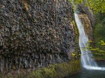 Cadute della coda di cavallo - Oregon Immagine Stock