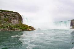 Cadute di Horeshoe, cascate del Niagara Immagini Stock Libere da Diritti