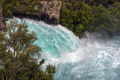 Cadute di Huka, Nuova Zelanda Immagine Stock Libera da Diritti