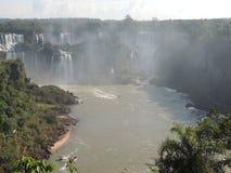 Cadute di Iguaçu immagini stock libere da diritti