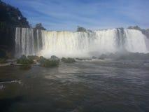 Cadute di Iguaçu Immagine Stock