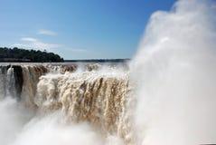 Cadute di Iguassu Immagine Stock Libera da Diritti