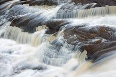 Cadute di Manido, parco di stato della regione selvaggia di montagne dell'istrice Fotografia Stock Libera da Diritti