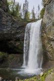 Cadute di Moul, pozzi Gray Provinicial Park, BC, il Canada Fotografia Stock