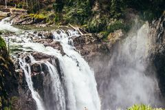 Cadute di Snoqualmine - Seattle Washington immagine stock