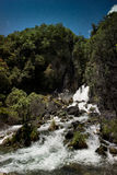 Cadute di Tarawera, Nuova Zelanda Immagini Stock