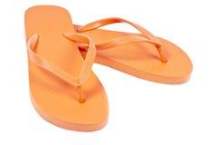Cadute di vibrazione arancioni Fotografie Stock