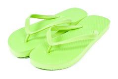 Cadute di vibrazione di verde di calce Fotografie Stock Libere da Diritti