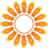 Cadute di vibrazione Sun royalty illustrazione gratis