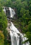 Cadute di Whitewater nella Nord Carolina della gola di Jocassee Fotografie Stock Libere da Diritti