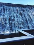Cadute ghiacciate Fotografie Stock Libere da Diritti