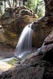 Cadute minerali delle sorgenti Fotografie Stock