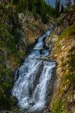 Cadute mistiche - parco nazionale di Yellowstone, Wyoming fotografia stock