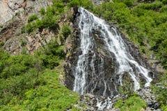 Cadute nuziali del velo dell'Alaska Fotografie Stock