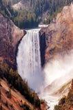Cadute più basse del fiume di Yellowstone Fotografia Stock