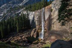 Cadute primaverili in parco nazionale di Yosemite, California, U.S.A. Fotografie Stock