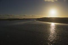 Cadzand do Mar do Norte Fotografia de Stock