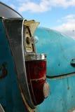 Cae rear light. Old car broken rear liht Royalty Free Stock Photography