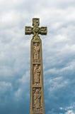 Caedmon` s Kruis, Whitby, North Yorkshire, Engeland, het UK Stock Afbeeldingen