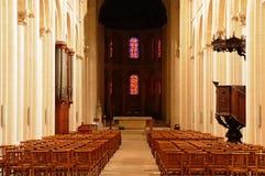 Caen,  Abbaye aux Dames Stock Photos