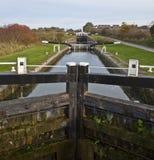 Caen bloquea Wiltshire Imagen de archivo libre de regalías