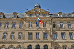 Caen city hall in Normandie Royalty Free Stock Photography
