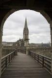 Caen en Francia Imagen de archivo