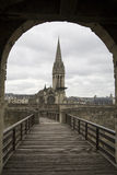 Caen In France stock image