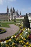 Caen Gardens Stock Photos