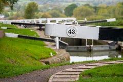 Caen Hill Locks stock images
