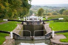 Caen Hill Locks stock photos