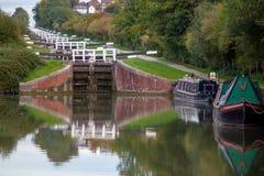 Caen Hill Locks stock photography