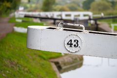 Caen Hill Locks royalty free stock photography