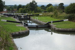 Caen Hill Locks royalty free stock images