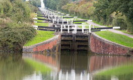 Caen Locks Devizes England Royalty Free Stock Photography