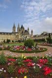 Caen, mittelalterliche Abtei Lizenzfreie Stockfotografie