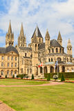 Caen (Normandië, Frankrijk), Abbaye aux hommes Royalty-vrije Stock Foto