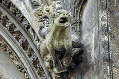 Caen (Normandy(: gargoyle Stock Photos