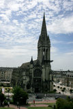 Caen in Normandy northern France Stock Photography