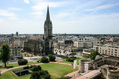 Caen in Normandy northern France Royalty Free Stock Image