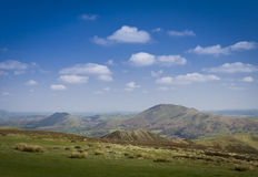 Caer Caradoc from the Long Mynd Royalty Free Stock Photo