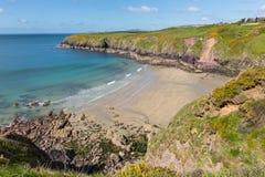 Caerfai Bay West Wales UK Royalty Free Stock Photo
